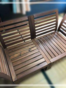 IKEA屋外用ソファ
