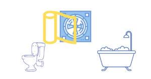 トイレ・お風呂の換気扇フィルター